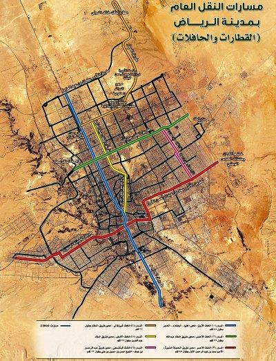 صحف: مسارات القطار الكهربائي في الرياض تمر بــ«132»محطـــة