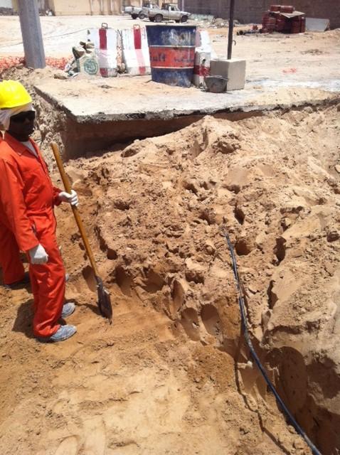 Stcتجامل شركة حفريات على حساب المواطنين