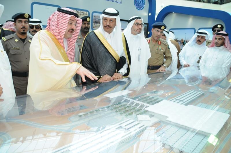 الأمير مشعل يرعى معرض مشاريع محافظة جدة
