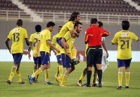 النصر السعودي يتأهل للدور الثاني لكأس الاتحاد العربي