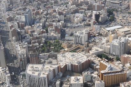 تدني مدى الرؤية الأفقية بمكة والمدينة