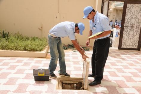 المياه الوطنية: كشف التسربات للمنازل يحقق وفراً مائياً