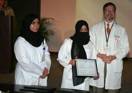 تخريج«16»من أطباء الزمالة بمستشفى الملك خالد