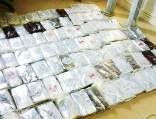 حرس الحدود يحبط تهريب«182»كيلو من الحشيش المخدر
