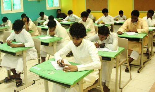 «120» ألف طالب يؤدون الاختبارات بجازان