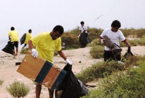 «200» كشاف يشاركون في مسابقة نظافة الجزر البحرية بجازان