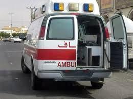 مصرع شخص وإصابة أربعة في حادث تصادم بجازان