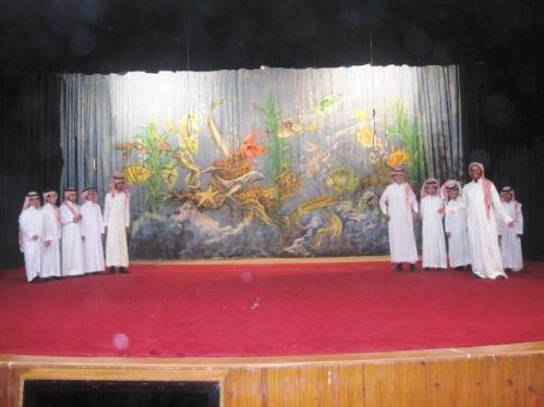 تفوق ثانوية فرسان الجزيرة بمسابقة اللوحة الجماعية