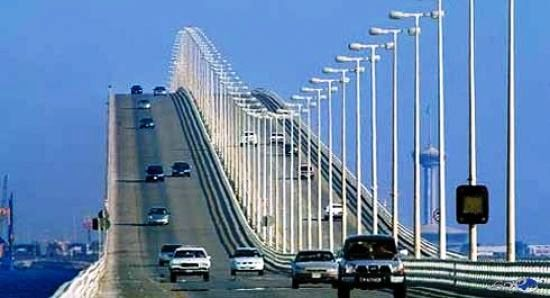ارتفاع نسبة المسافرين عبر جسر الملك فهد خلال إجازة عيد الفطر