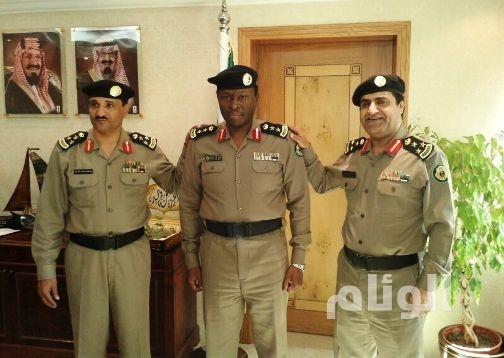 """مدير مرور الخبر حسين أحمد إلى رتبة """"عقيد"""""""