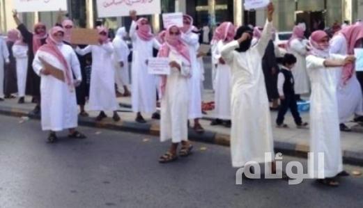 القبض على«161» شخصاً بينهم«15» إمرأة بعد الاعتصام والتجمع ببريدة