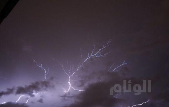 الأرصاد : أمطار رعدية على هذه المناطق