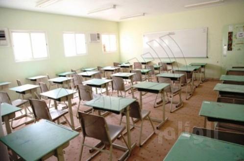 التماس كهربائي يخلي مجمع تعليمي ببريدة