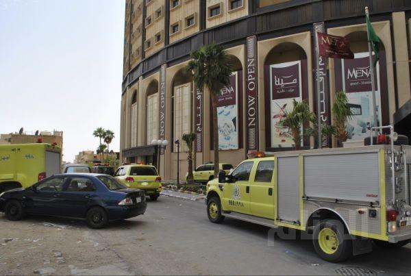 مدني الرياض يخمد حريقا شب بأبراج الخالدية