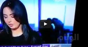 ضجة في تويتر بعد «قبلات» ساخنة خلف مذيعة قناة العربية