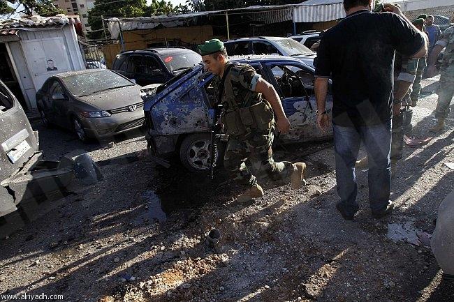 إصابة 5 أشخاص في سقوط صاروخين جنوب بيروت