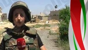 مقتل يارا عباس مراسلة قناة الإخبارية السورية قرب بلدة القصير