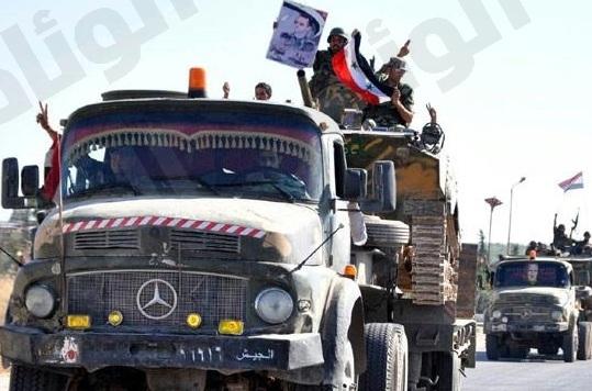 التلفزيون الرسمي: الجيش السوري يقتحم مدينة القصير
