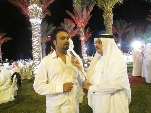 بالصور..الجائزة الوطنية للإعلاميين تذهب لقناة الجزيرة القطرية !