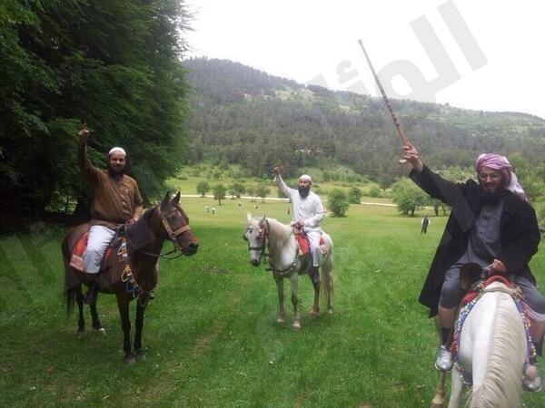 خيول القرني والعريفي تفتح عليهما النار والكلباني : شرح عملي للهياط