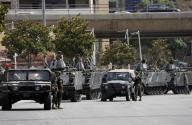 الطوائف اللبنانية  تتظاهر احتجاجا على دور حزب الله في دعم بشار