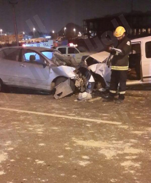 إصابات خطيرة في حادث سير بطريق جعرانة مكة