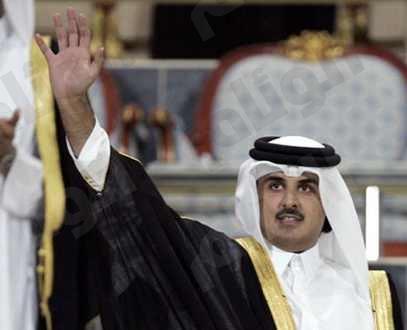 الشيخ تميم يوجه كلمة لشعب بلاده