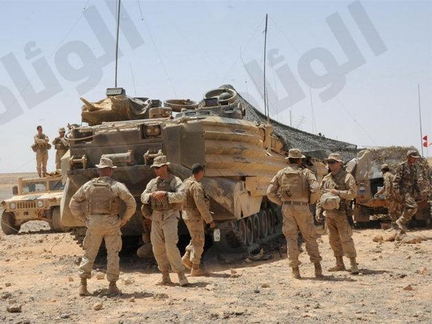 أمريكا تبقي 700 من جنودها في الأردن بعد