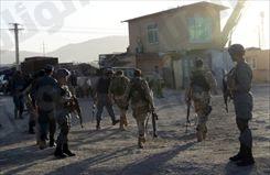 مصرع سبعة متمردين انتحاريين هاجموا مطار كابول