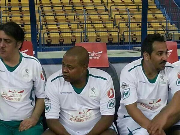 قُدامى نجوم المنتخب السعودي يخسرون لقاء البرازيل