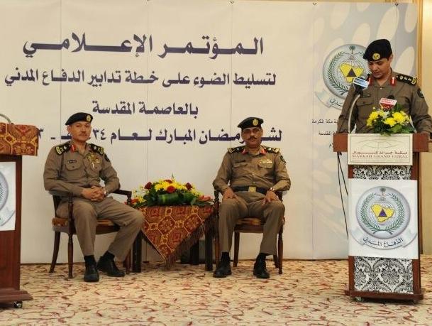 «مدني مكة» يعلن عن تدابير خلال شهر رمضان بمكة والمدينة