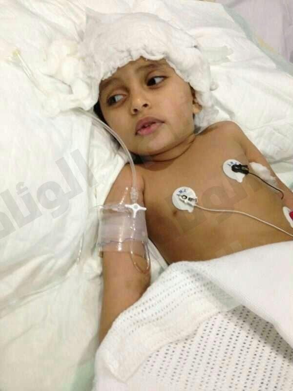 والد الطفل محمد يناشد خادم الحرمين بعلاج ابنه بعد تعرضه لخطأ طبي