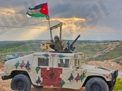 الجيش الأردني يقصف مجموعات من داعش