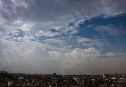سحب رعدية ممطرة على مناطق مكة تشمل الأجزاء الساحلية والمدينة وحائل