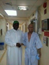 ماجد عبدالله يحقق رغبة مشجع نصراوي مصاب بالسرطان