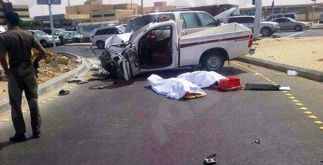 مصرع ممرضة سعودية ووالدها بحادث 2222222.jpg