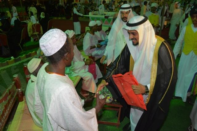 الاحتفاء بحجاج المغرب والجزائر والسودان