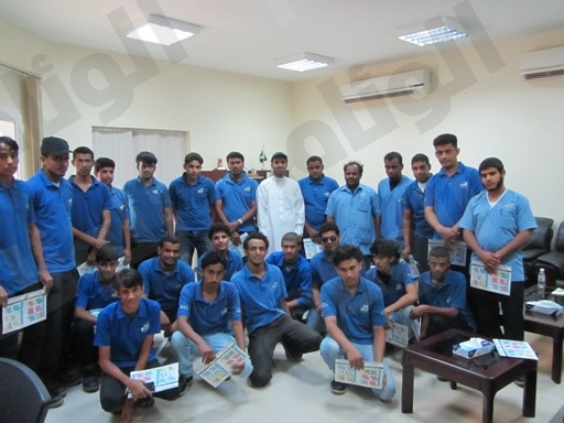 المعهد الصناعي الثانوي بالقنفذة يشارك بمخيم محافظة القنفذة لاستقبال ضيوف الرحمن