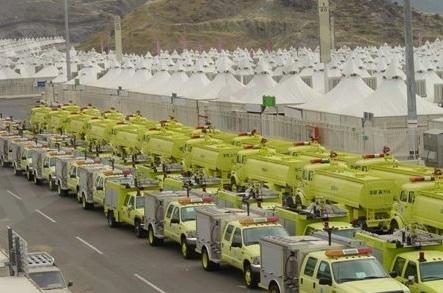 الدفاع المدني بمكة المكرمة ينفذ 309 جولة ميدانية