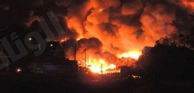 حريق يثير الفوضى ويؤدي لاطلاق النار في سجن بريدة