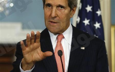 كيري: أمريكا تدرس خيارات أخرى لتدمير أسلحة سوريا الكيماوية