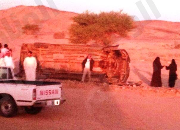 إصابة «4» معلمات في حادث مروري بالقويعية
