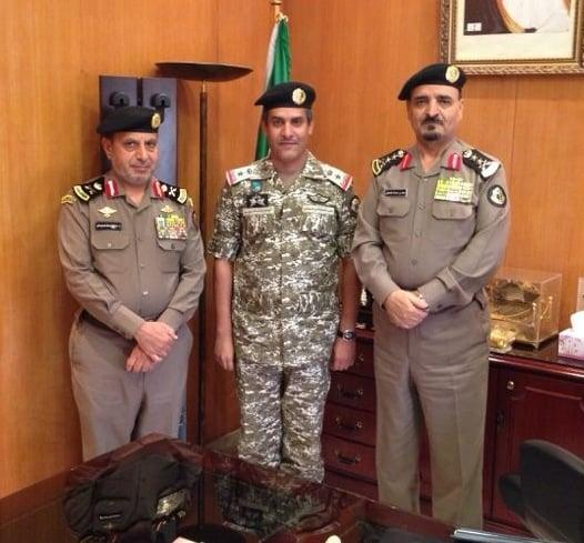 مدير الأمن العام يقلد احمد الميمان رتبة مقدم ركن