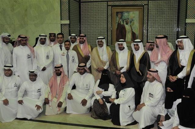 اميرالرياض يفتتح توسعة العيادات بمستشفى الملك خالد التخصصي للعيون