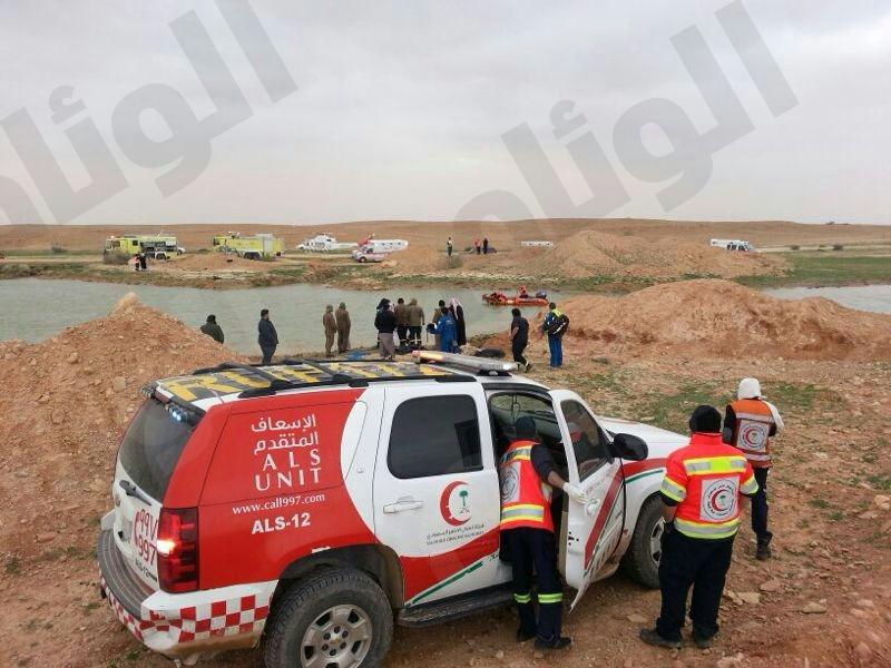 بالصور..وفاة ست فتيات من أسرة واحدة بمستنقع مائي شمال الرياض