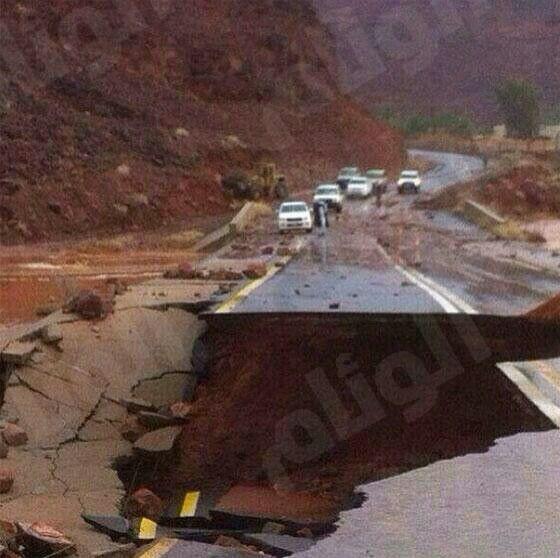 وفاة مواطن بسبب الأمطار في المدينة