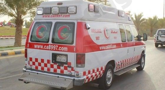 إصابة 4 أشخاص في حادث على الطريق الدولي بصبيا