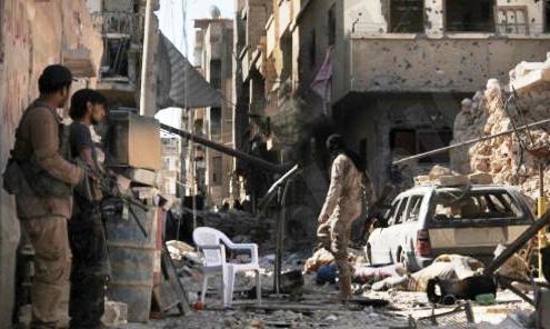 قتلى وجرحي بالعشرات في قصف عنيف على حلب وريف حمص الشمالي