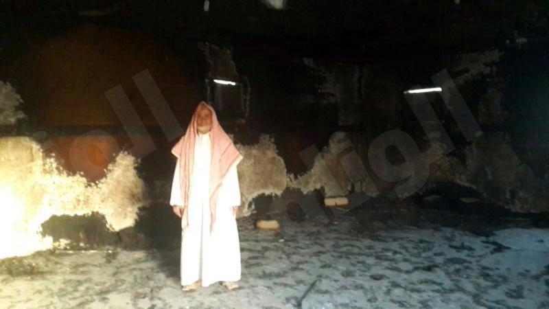 الهتاني : قتلوا ابني وأحرقوا منزلي..وأنا وعائلتي خائفون «صور»