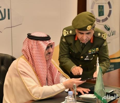 محمد بن نايف يدشن خدمة الجواز الإلكتروني..أبشر
